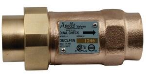 Apollo Conbraco Bronze Dual Check Valve A4NLF3AA