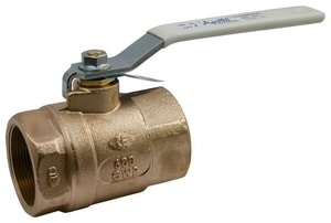 Apollo Conbraco 600 psi 2-Piece FNPT Bronze Standard Port Isolation Ball Valve with Lever Handle A70LF14