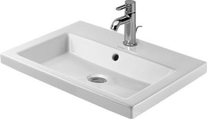 Duravit USA 2nd Floor 3-Hole Drop-In Vanity Basin D034760301
