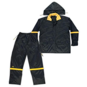 CLC Custom Leather Craft 3-Piece Nylon Rain Suit CR103