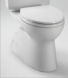 Toto USA Vespin® II 1.28 gpf Two Piece Toilet TCT474CEFG01
