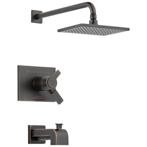 Delta Faucet Vero® 2.5 gpm Tub and Shower Trim (Trim Only) DT17T453