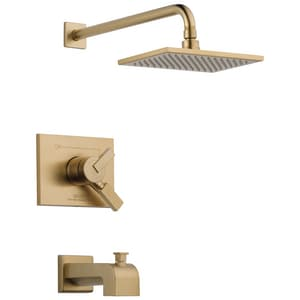 Delta Faucet Vero® 2.5 gpm Double Lever Handle Tub and Shower Trim (Trim Only) DT17453