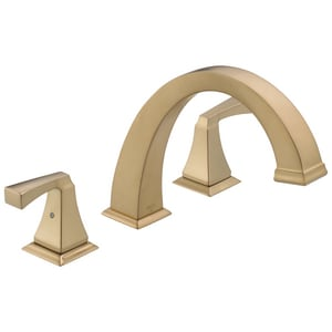 Delta Faucet Dryden™ 18 gpm 3-Hole Roman Tub Trim with Double Lever Handle (Trim Only) DT2751