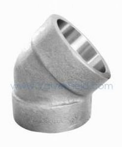 Socket 3000# Carbon Steel Forged 45 Degree Elbow IFSS4E