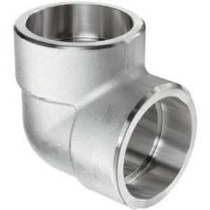 Socket 3000# 316L Stainless Steel 90 Degree Elbow IS6L3S9E