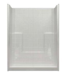 Hamilton Bathware 60 x 33 in. Shower HM6033SHNSTILEWH