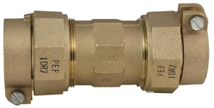 Ford Meter Box Pack Joint Brass Straight Coupling FC66IDR7NL