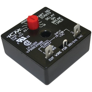International Controls & Measure Delay-On-Break Timer with 10 Minute Adjustable Time Delay IICM203B
