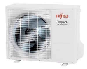 Fujitsu Halcyon™ HFI 230 V 25.5 SEER Heat Pump Condenser Unit FAOU12RLS2