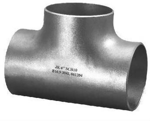 Schedule 10 304L Stainless Steel Seamless Tee IS14LSTM