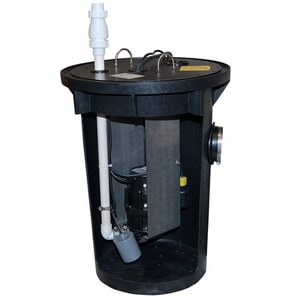 Zoeller 115V Sewage Package System with Alarm Poly Structural Foam Z9150005