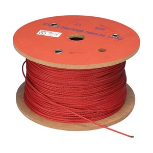 Erico 250 ft. Cable Red ECSB12CBL