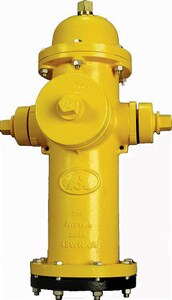 American Flow Control 5-1/4 in. Open Hydrant Storz AFCB84BLAOLSZFTB