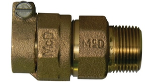 A.Y. McDonald PEP Compression x MIP Brass Reducing Coupling M7475333F
