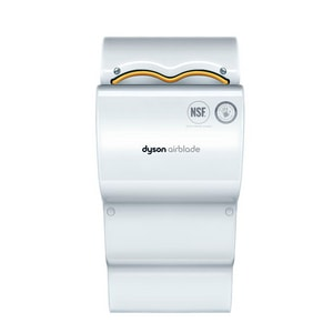Dyson 120 V Plastic Hand Dryer in White D1980801