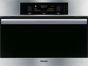 Miele Appliances MasterChef Classic 24 in. Steam Wall Oven MDG4084SS