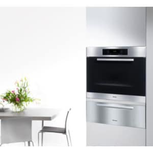 Miele Appliances Europa 30 in. Self Cleaning Single Wall Oven in Stainless Steel MH4886BPSS