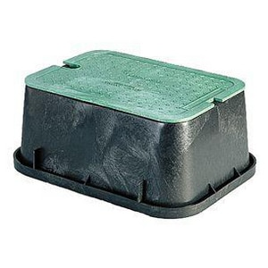 Lincoln Products® Plastic Motor Box & Solid Green Lid LIN319200