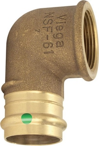 Viega ProPress® Press x FPT Bronze 90 Degree Elbow V795