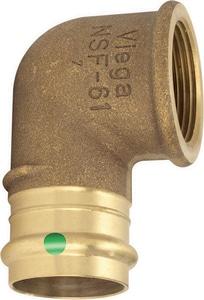 Viega ProPress® Press x FNPT Bronze 90 Degree Elbow V79520