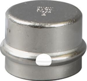 Viega ProPress® Press 304L Stainless Steel Cap with FKM Sealing Element V853