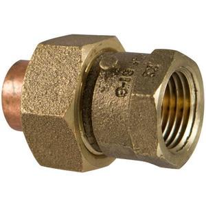 Nibco 2-1/2 in. Copper x FNPT Copper Union CCFULFL