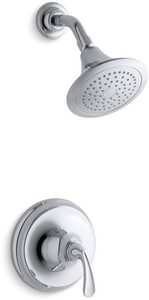 Kohler Forte® Sculpted Rite-Temp Pressure-Balancing Shower Faucet Trim Set KT10276-4E