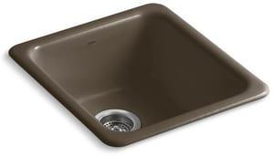 Kohler Iron/Tones® 1-Hole 1-Bowl Kitchen Sink K6584