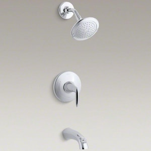 Kohler Alteo™ Bath and Shower Trim (Valve Not Included) with Single Handle Lever and 2.0 gpm Max Flow Rate KT45104-4E