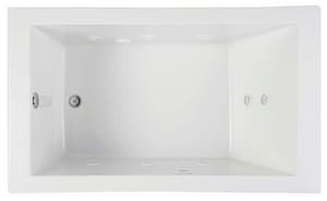 Mirabelle® Edenton™ 72 x 36 in. Drop-In Whirlpools with Reversible Drain MIREDT7236
