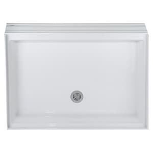 American Standard Town Square® 48 x 34 in. Single Threshold Shower Receptor with Rear Drain in White A4834STTS020