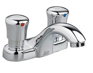 American Standard Double Push-Down Handle Centerset Motor Lavatory Faucet A1340225