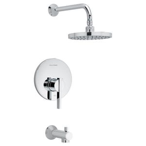 American Standard Berwick® Tub and Shower Trim Kit with Single Lever Handle AT430502