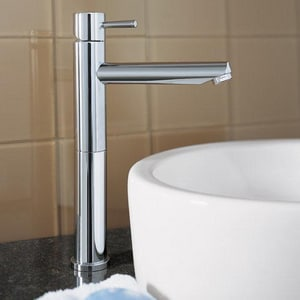 American Standard Serin® 2.2 gpm 1-Hole Monoblock Vessel Bathroom Faucet with Single Lever Handle A2064151
