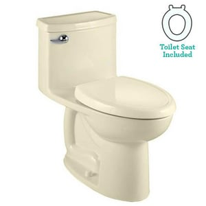 American Standard Cadet® 3 1.28 gpf Elongated Toilet with Closet Seat A2403128