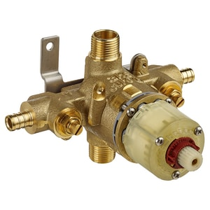 American Standard 1/2 in. PEX Pressure Balancing Temperature Control Valve with Screwdriver Stops AR117SS