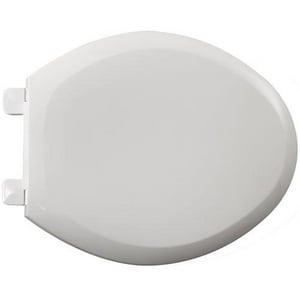 American Standard Cadet® 3 Plastic Round Closed Front With Cover Toilet Seat A5282011
