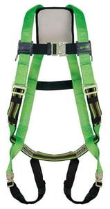 Miller Fall Protection Universal Size Vest Style Back Padding Body Harness HP950QCUGN