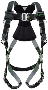 Miller Fall Protection Universal Size Vest Style Body Harness HRDTQCUBK at Pollardwater