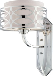 Nuvo Lighting Harlow 100W 1-Light Vanity Light Fixture in Polished Nickel N604621