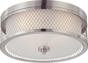 Nuvo Lighting Fusion 60W 3-Light Medium Flush N604691