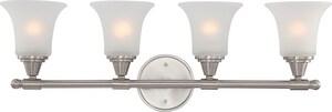 Nuvo Lighting Surrey 100W 4-Light Vanity Light Fixture N604144