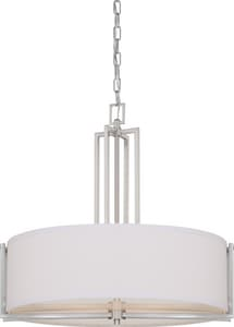 Nuvo Lighting Gemini 60W 4-Light Pendant in Brushed Nickel N604756