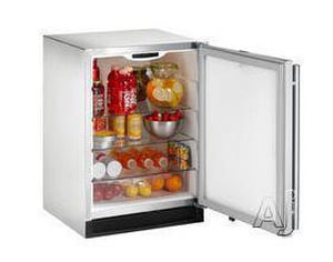 U-Line 24 in. Free Standing Outdoor Refrigerator Right-Hand in Stainless Steel U2175RSOD00