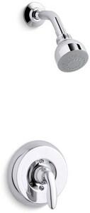 Kohler Coralais® Shower Trim Set with Single Lever Handle and 2 gpm Showerhead (Less Valve) KT15611-4E