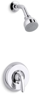 Kohler Coralais® Shower Trim Set with Single Lever Handle and 1.5 gpm Showerhead (Less Valve) KT15611-4H