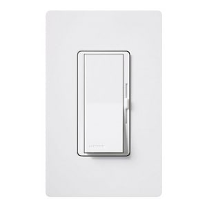 Lutron Electronics 150W LED Dimmer in White LDVCL153PHWH