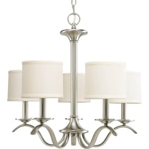 Progress Lighting Inspire 60W 5-Light Candelabra Chandelier PP4635