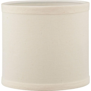 Progress Lighting Inspire Accessory Shade in White and Beige Linen PP892601